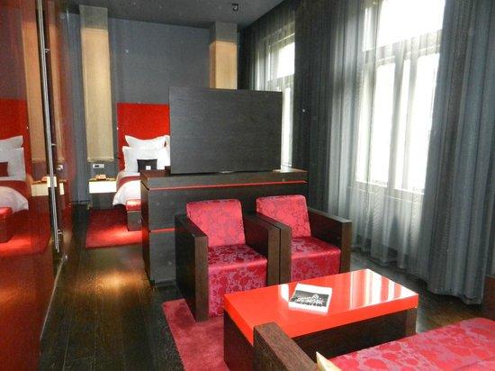 Buddha-Bar Hotel Budapest Klotild Palace: côté salon