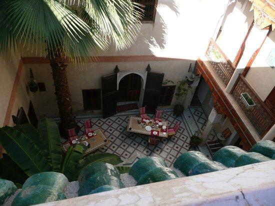 Riad Les Clefs Du Sud:                   vue du patio