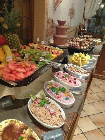 Hotel Sonne:                                     Dinner