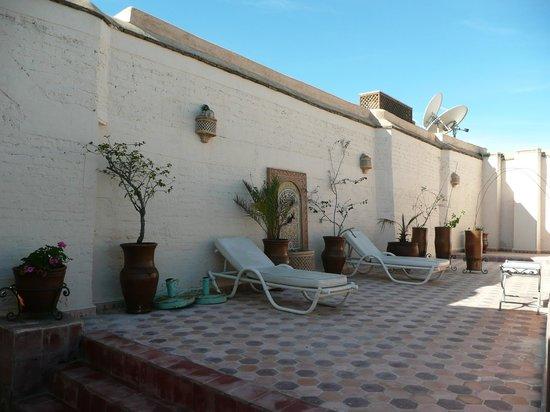 Riad Les Clefs Du Sud:                   terrasse