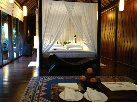 COMO Shambhala Estate, Bali:                                     bedroom