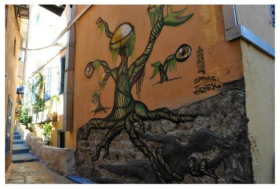 Saifi Urban Gardens:                   cour de l'hôtel