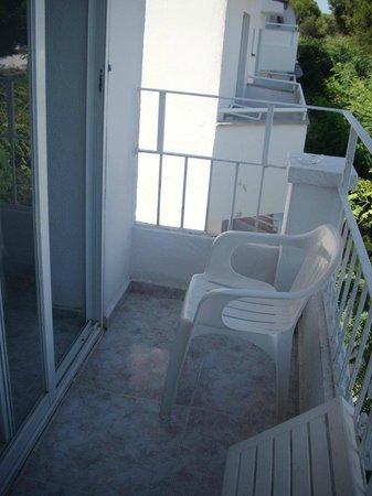 Hotel Antares:                   Balcone Camera Doppia
