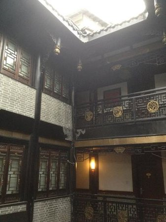"BuddhaZen Hotel:                   ""Traditional China outside"", modern inside."