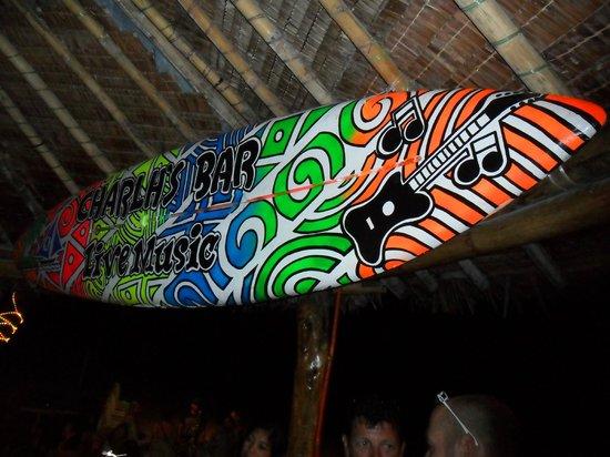Charlh's Bar:                   Surfin' Boracay!