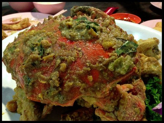 Tpy Mellben Seafood:                   salted egg crab
