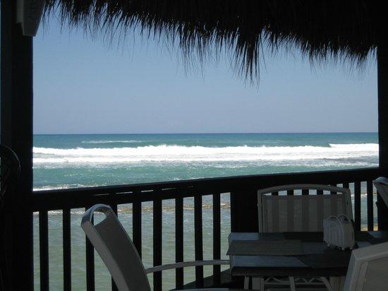 Velero Beach Resort: Udsigt fra restauranten