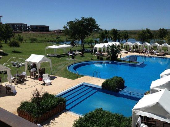 Arapey Thermal Resort and Spa: Lo que se ve desde la recepción