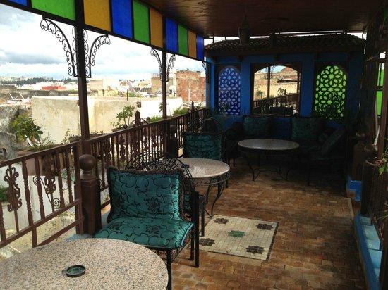 Riad Hiba Meknes:                   la terrazza