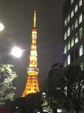 Hotel Comsoleil Shiba Tokyo: Op loopafstand de Tokyo Tower