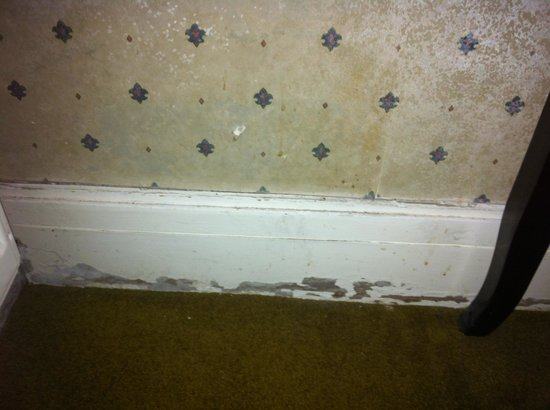 Grand Hotel Scarborough:                   Dirty