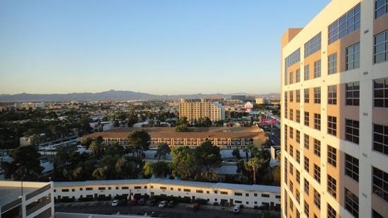 Renaissance Las Vegas Hotel:                   view from my bedroom