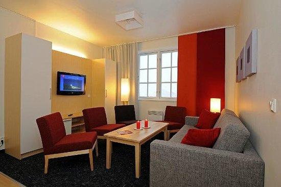 Skitorget Apartments: Livingroom