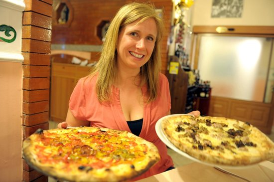 Ciao Toto:                   Best Pizza in Italy