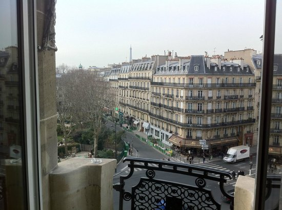 Hôtel Lutetia:                   A room with a view