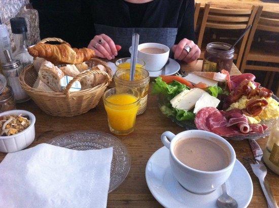 brunch - picture of tabl'o gourmand, nantes - tripadvisor