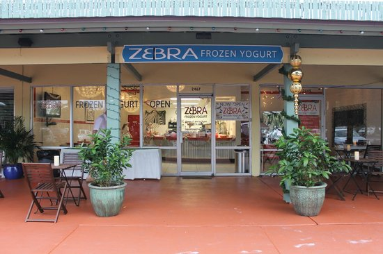 Zebra Frozen Yogurt