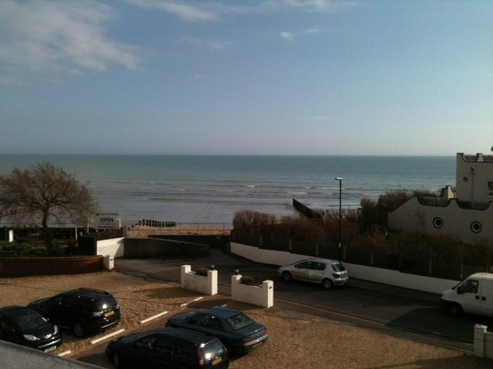 Best Western Beachcroft Hotel:                   view from room 24