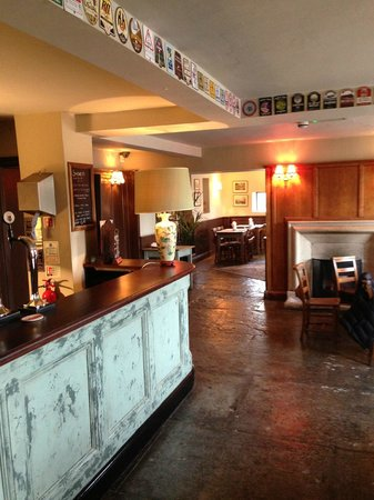 The Bell Inn: bar area