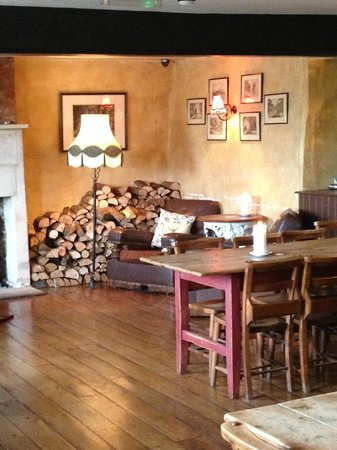 The Bell Inn: cosy seating