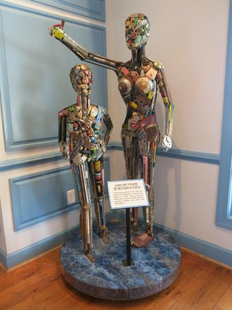 Ripley's Believe It or Not!:                   Mother and child made of junk