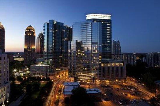 Aerial View of Loews Atlanta Hotel Exterior