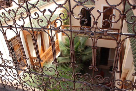 Riad RabahSadia:                   the courtyard