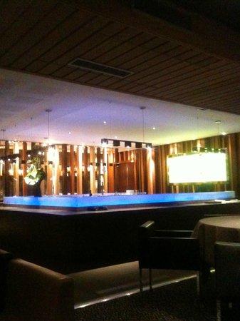 The Shamwari Restaurant:                                                       Bar du restaurant