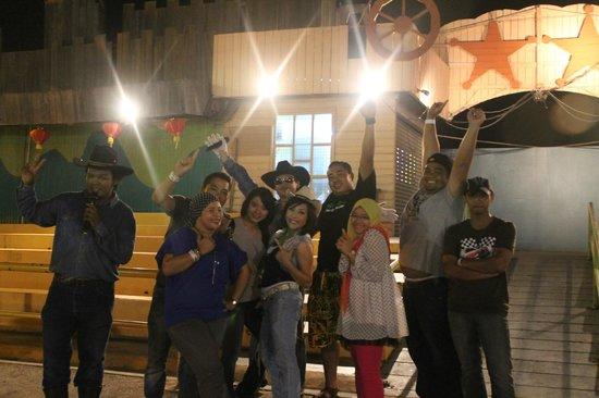 A'Famosa Resort Hotel Melaka:                   show time