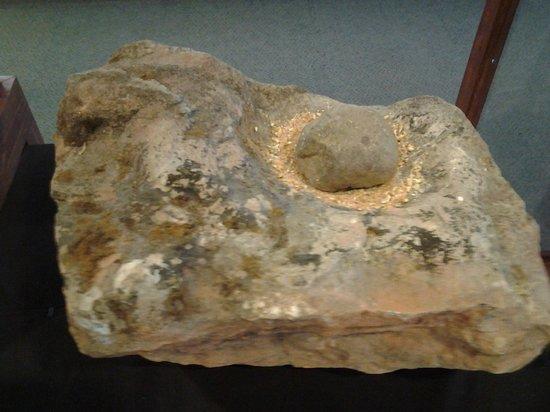 Museum of East Alabama :                   Native American artifact