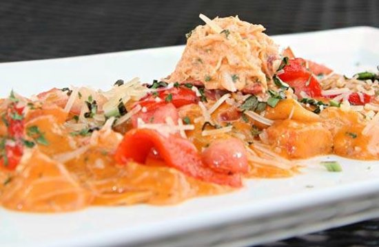 The Grille at the West Beach Hotel & Resort :                                                       Lobster Ravioli (Special)