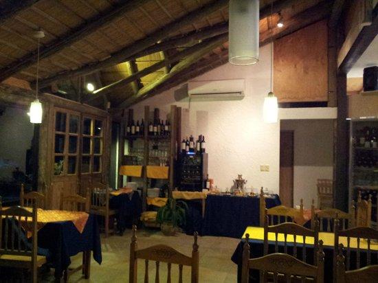 Restaurante Garni :                   Inside Restaurant Garni