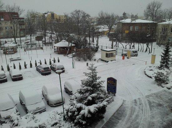 Best Western Hotel Felix:                   View from room