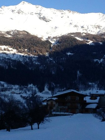 Chalet Pere Marie:                                                       View from the chalet