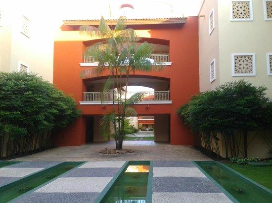 Iberostar Bahia: Área entre apartamentos