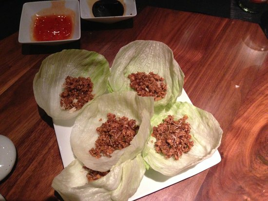 Soy:                   Lettuce wrap with Meat