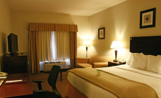Comfort Inn And Suites: This a shot of our NK room ( a room with a King bed)