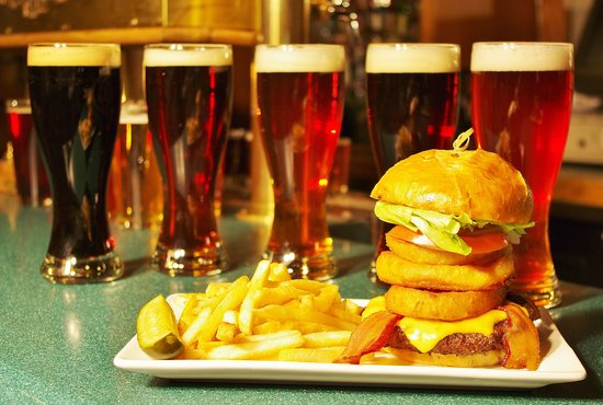 Glenwood Canyon Brewing Company: How's that for a burger?