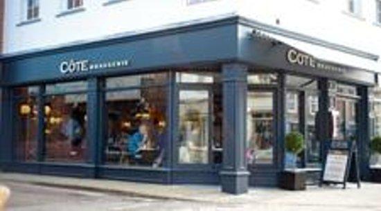 Cote Brasserie - Chichester:                   outside cote chichester