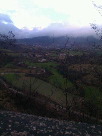 Albergo La Rocca Dei Malatesta:                   panorama