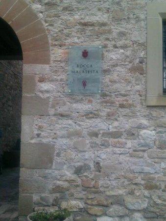 Albergo La Rocca Dei Malatesta:                   ingresso