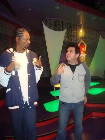 Madame Tussauds Hollywood: snoop, es igual