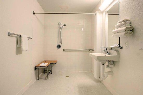 Americas Best Value Inn & Suites-Irving/Dallas: Handicap Bathroom