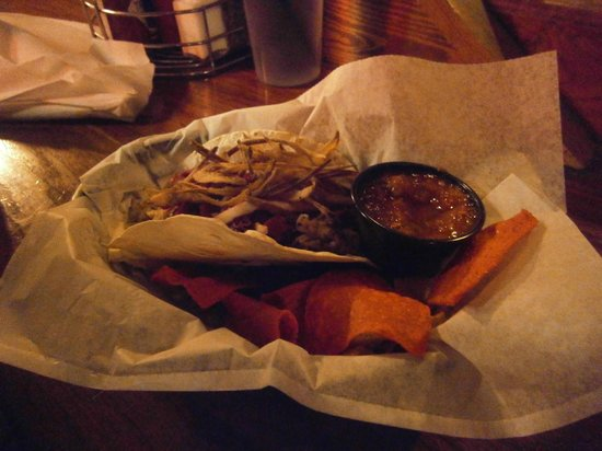 Jack of the Wood:                   Rabbit Tortillas with BBQ Chips