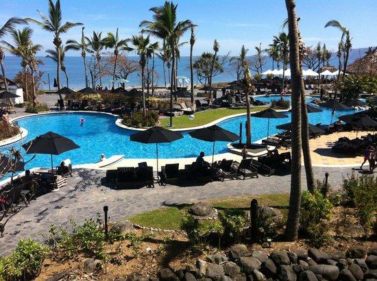 Sofitel Fiji Resort & Spa:                                     View from upstairs