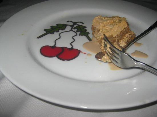 Hill Club Restaurant:                   Chocolate and coffee dessert