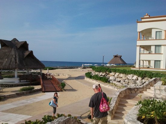 Heaven at the Hard Rock Hotel Riviera Maya:                   Resort View
