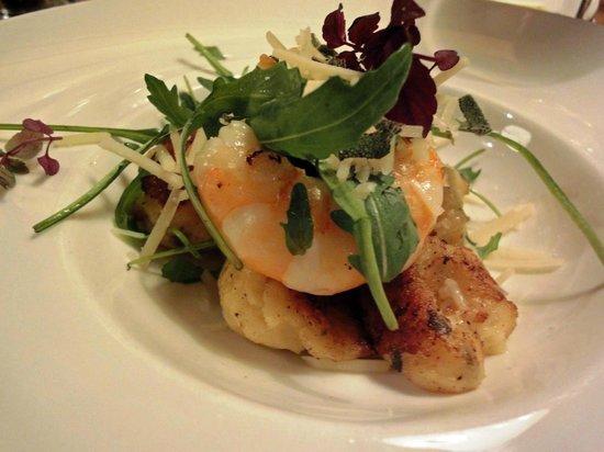 Restaurant Vis & Meer:                                     Gnocci