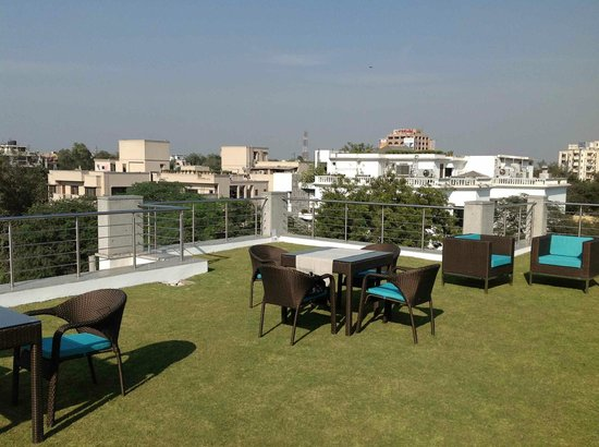 76 Friends Colony :                   Roof top terrace