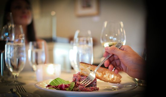 Restaurant La Cremaillere : Tartare de boeuf, classique et bien exécuté